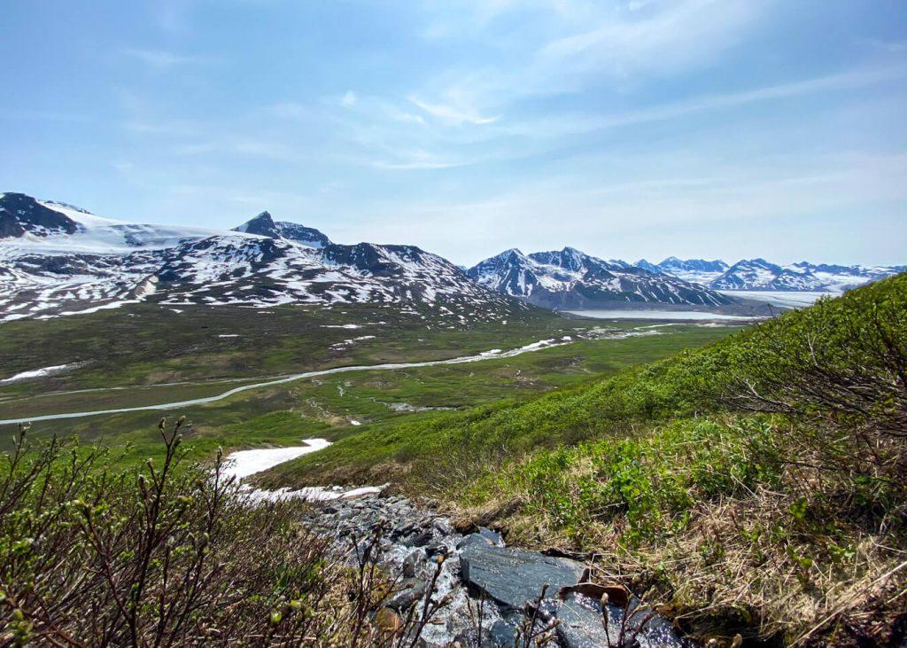 iceberg lake to bremner mine alaska