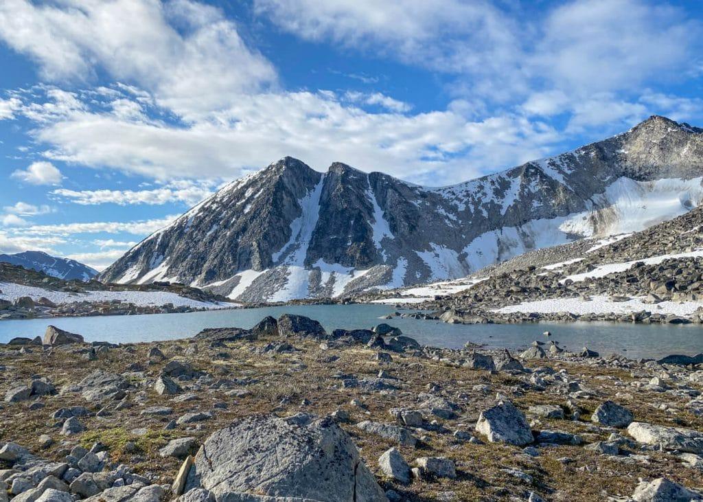 alpine lake seven pass route