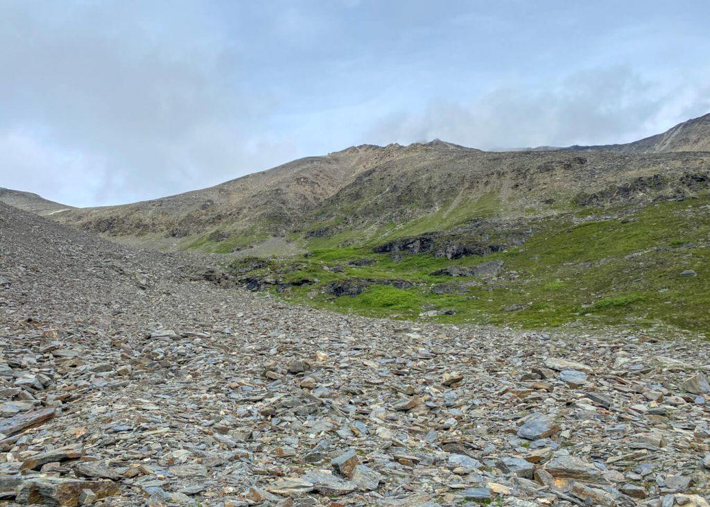 talus high pass seven pass route