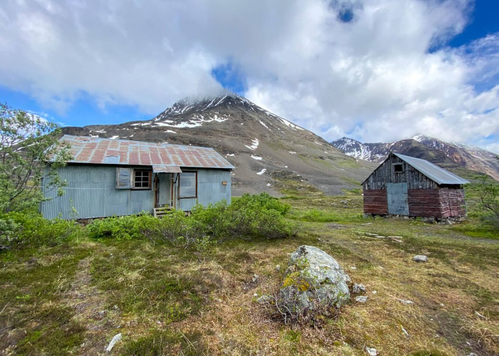 bremner bunkhouse alaska iceberg lake to bremner mine