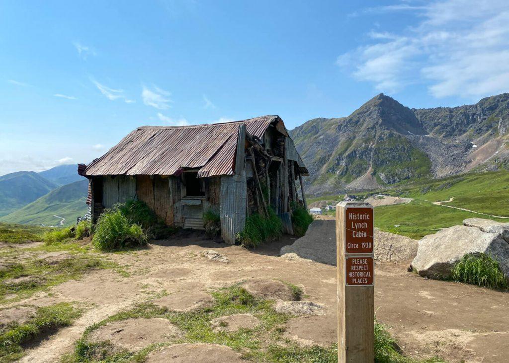 Historic Lynch Cabin Hatcher Pass Cabin Alaska