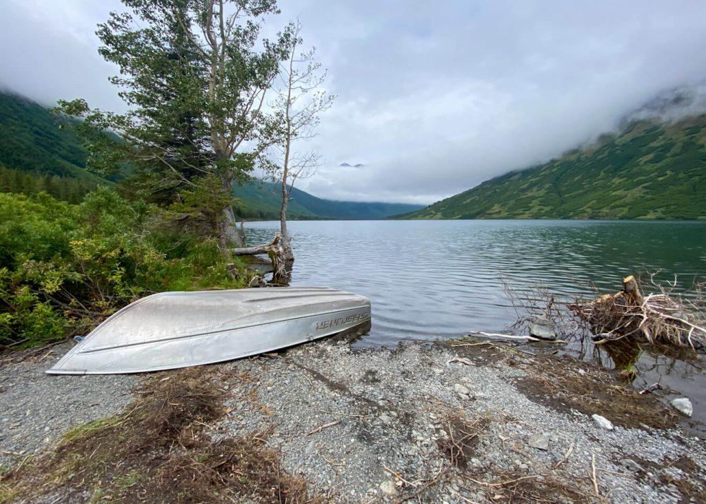 crescent lake rowboat