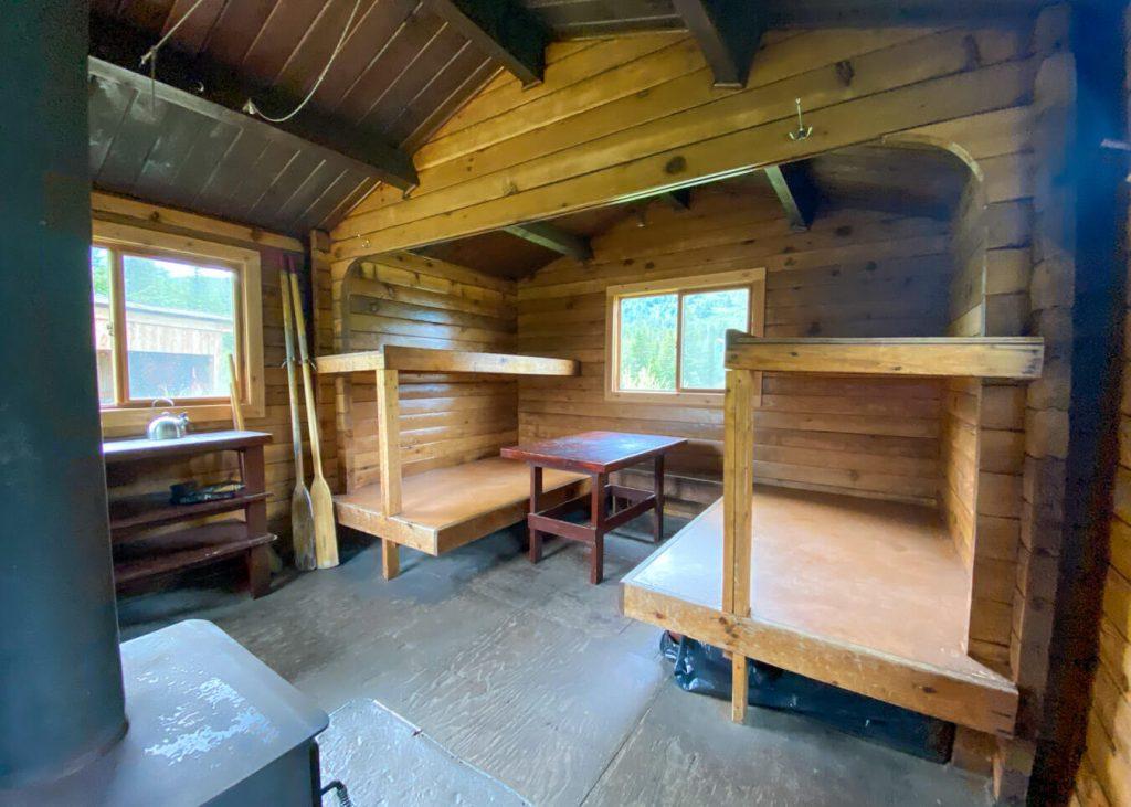 crescent saddle public use cabin review alaska