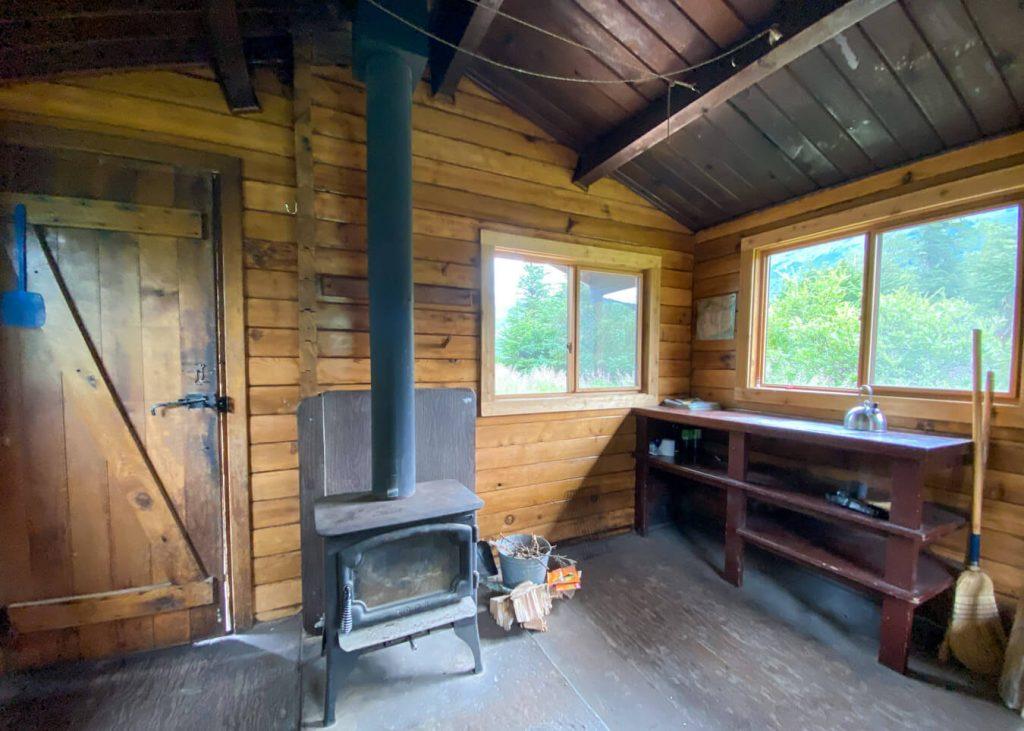 crescent saddle cabin alaska