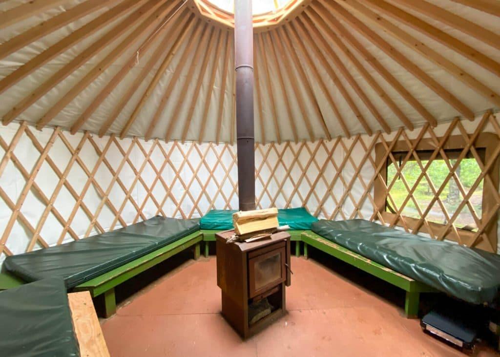 right beach yurt kachemak bay alaska