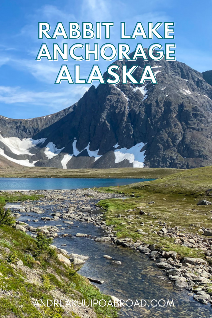 Hike Rabbit Lake Trail in Anchorage, Alaksa. One of the best hikes in Anchorage will take you to a beautiful alpine lake in the Chugach Mountains. Add this hike to your Alaska travel things to do.