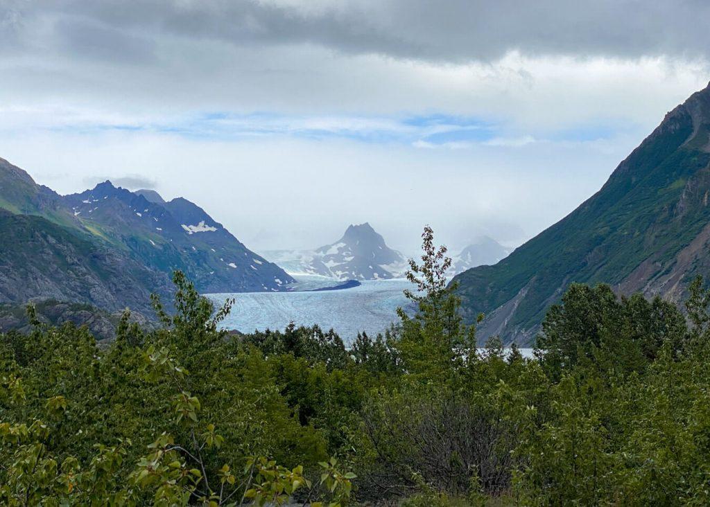 grewingk glacier camping alaska