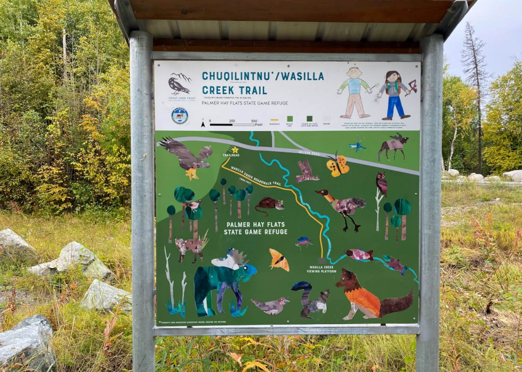 wasilla creek trailhead alaska