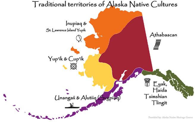 Alaska Native Heritage Center Map